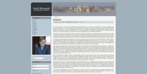 David Marquand's Official Website