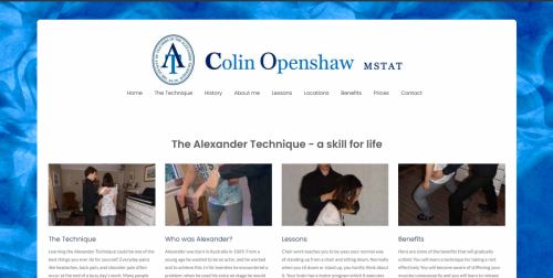 Alexander Teaching Technique Website