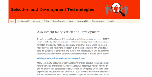 Selection and Development Technologies