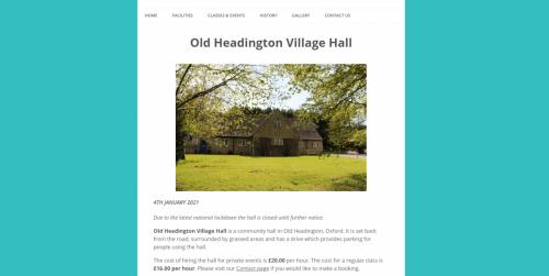Old Headington Village Hall