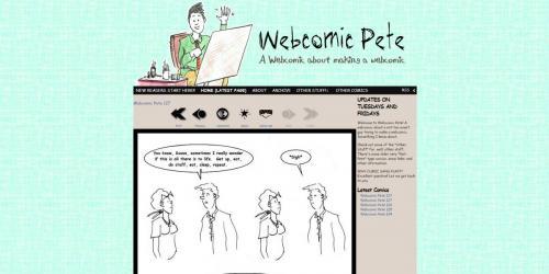 Webcomic Pete